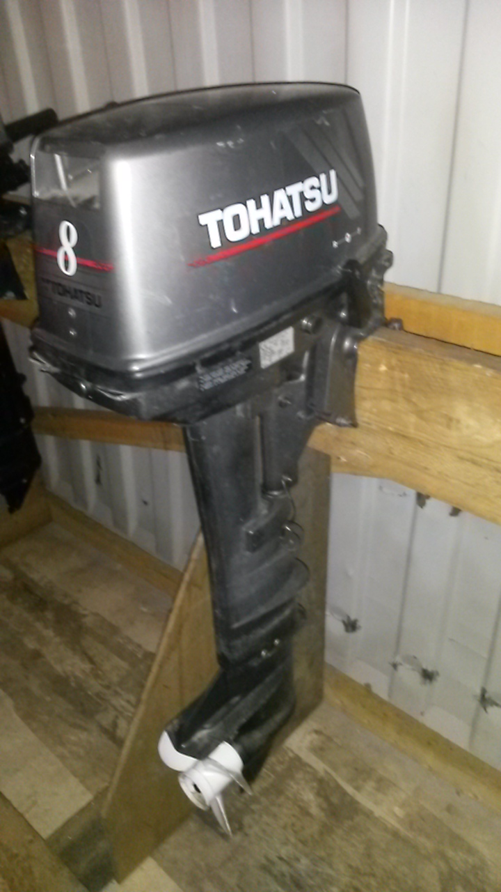 Tohatsu 8Hp 2 stroke outboard - longshaft Image